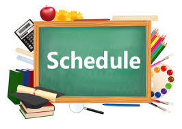 Image result for picture of school schedule