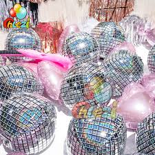 10 pcs 4D <b>disco balloon</b> Adult dance birthday party wedding ...