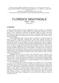 vida de florence nightingale