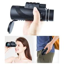 [$12.85 Off Gearbest Coupon] <b>40X60 HD High Time</b> Monocular ...