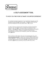 volunteer south okanagan similkameen a self assessment tool 2013 1 year ago sosvc