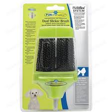Пуходерка-насадка FURminator FURflex Dual Slicker Brush Small ...