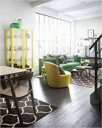 cheerful home furniture ideas with ikea sofa chair extraordinary design ideas using rectangular yellow glass cheerful home office rug