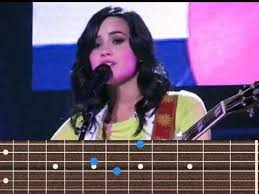 Demi Lovato - Catch Me guitar chords - YouTube