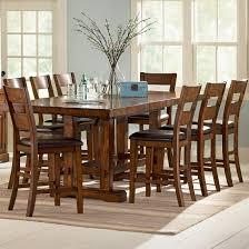 high kitchen table tall bar chairs