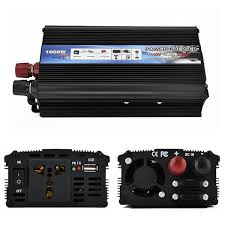 <b>2000W</b> DC 12V 24V To AC <b>220V</b> 110V <b>Auto Car</b> Inverter Charger ...