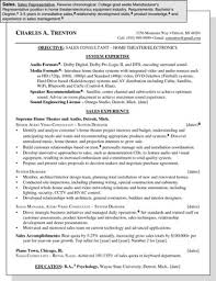 Sample Resume for a Sales Position   dummies Dummies com