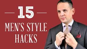 15 Men's <b>Style</b> Hacks & <b>Gentleman</b> Life Hacks - YouTube