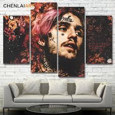 <b>Lil</b> Peep Music Raper <b>Canvas Painting</b> Giclee Print Poster Modern ...