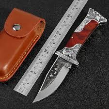 KKWOLF Tactical <b>high hardness folding</b> blade knife Jungle <b>Tool</b> ...