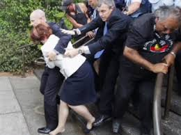 Image result for angry greek mob