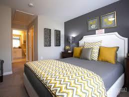 gray enchanting bedroom design
