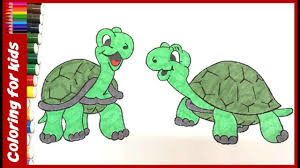Small Picture preschool coloring pages How to color turtle coloring pages for