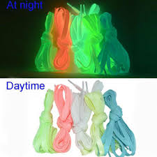 1Pair Sports <b>Outdoor Luminous</b> Shoelace For Sneaker Glowing In ...