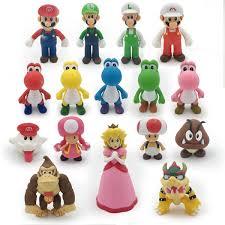 <b>18 Styles 8 15cm Anime</b> Super Mario Bros Bowser Koopa Yoshi ...
