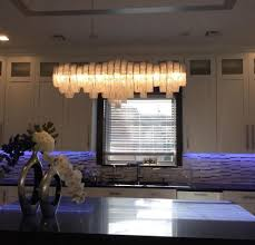 Modern Crystal Chandeliers For Dining Room Modern Crystal Chandelier In Spaces Contemporary With Dining Room