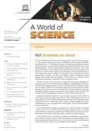 A World of science, vol. 3, no. 4 - UNESCO Digital Library
