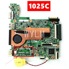1025C Mainboard REV 1.2G For <b>ASUS</b> 1025C Without LAN Laptop ...