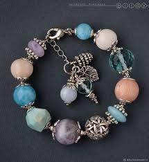 Браслет из натуральных камней «Апрель» – купить в интернет ...