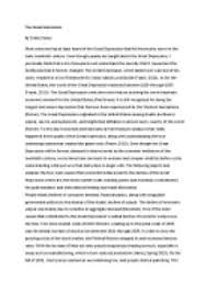 causes great depression essay   pdfeportswebfccom causes great depression essay