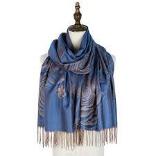 amice pashmina <b>jacquard scarf rayon</b> fringe floral ladies wraps ...