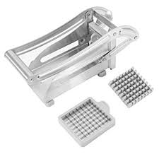 Potato Chipper, <b>Stainless Steel Chip</b> Cutter <b>French</b> Fry Cutter Potato ...