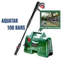 <b>Bosch</b> Easy Aquatak 100 Bars Long Lance Pressure Washer & <b>Car</b> ...