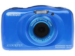 Купить Компактная камера <b>Nikon</b> Coolpix S33 <b>синий</b> по супер ...