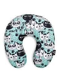 <b>Подушка</b> антистресс для шеи, серия <b>Animal</b>, дизайн Kittens ...