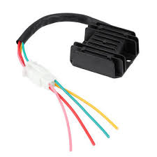4 Wires Voltage <b>Regulator Rectifier</b> for <b>Motorcycle Boat</b> ATV GY6 50 ...