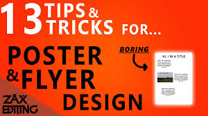 how to make posters and flyers look more professional tips how to make posters and flyers look more professional 13 tips and tricks