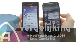 Motorola Moto G 2014 vs Sony Xperia M2 review (Dutch) - YouTube