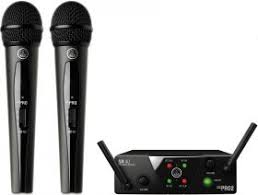 <b>AKG WMS40</b> Mini2 Vocal Set US45AC (660.700&662.300 ...