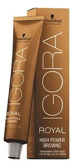 Крем-<b>краска для волос</b> Igora Royal <b>High</b> Power Browns 60мл ...