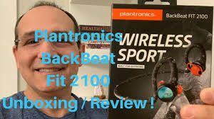 <b>Plantronics BackBeat Fit 2100</b> Unboxing and Review! - YouTube