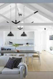 open kitchen dining lounge amazing ceiling lighting ideas family