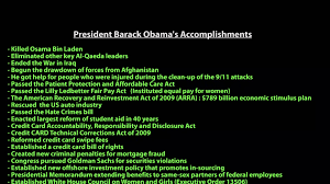 obama vs romney a comparison of legislative accomplishments obama vs romney a comparison of legislative accomplishments