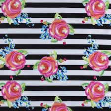 Watercolor Rose <b>Striped Apparel Fabric</b> | Hobby Lobby | 1248806
