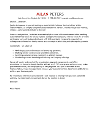 best customer service advisor cover letter examples livecareer edit