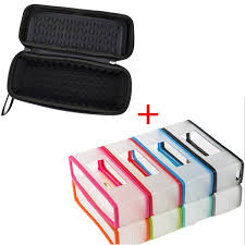 2 in 1 Soft Carry Silicone Case +<b>Hard EVA Travel</b> Storage Case For ...