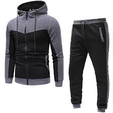 Miwaimao M-9XL Large Sportswear Suit <b>Mens</b> Sportswear <b>Mens</b> ...