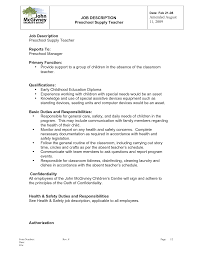 kindergarten teacher resume examples application letter kindergarten example resume for kindergarten teacher teacher resume examples teaching education cv template job