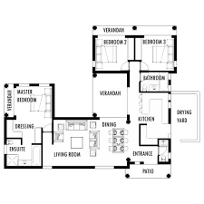 House Plans HQ   Buy Pre Drawn House Plans Online House Plans     Bedroom House Plan Tuscan House Plan