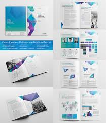 best indesign brochure templates for creative business marketing clean modern multipurpose brochurereport