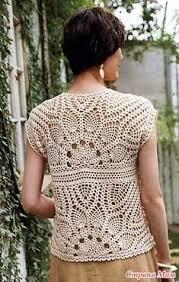вязание крючком | crochet sweaters/shawls | Crochet cardigan ...