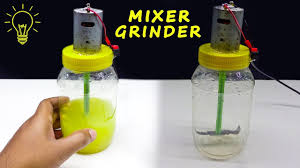 How to make <b>mini</b> simple <b>Mixer Grinder</b> at Home | DIY <b>Mixer Grinder</b> ...