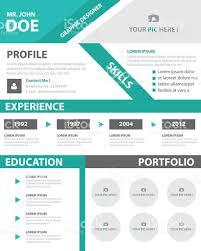 creative resume business profile cv vitae template layout design 1 credit