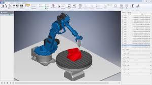 3D <b>printing</b> using <b>a</b> Motoman <b>robot</b> - YouTube
