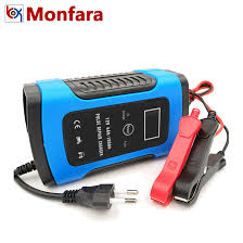 <b>12V 6A LCD</b> Smart Fast Car Battery Charger for Auto Motorcycle ...