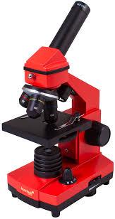 Buy <b>Levenhuk</b> Rainbow 2L PLUS Orange Microscope in online ...